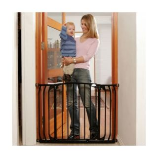 Dreambaby Dreambaby Chelsea Xtra Wide Swing Close Gate Combo Pack