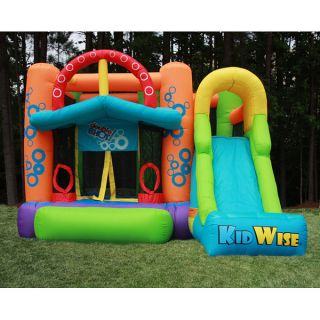 KidWise Double Shot Inflatable Bounce House   Shopping