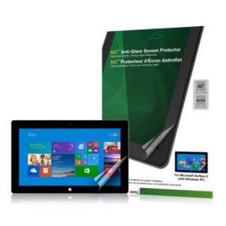Green Onions Supply Ag+ Anti glare Screen Protector For Microsoft Surface 2 With Windows Rt Matte   Tablet Pc (rt spms202hd)