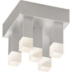 SON 2120 16 Connetix Bright Satin Aluminum  Flush Mount Lighting