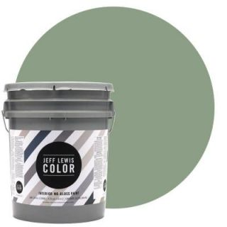 Jeff Lewis Color 5 gal. #JLC510 Dirty Martini No Gloss Ultra Low VOC Interior Paint 105510
