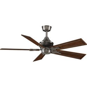 Fanimation MAD3255PW Louvre Pewter  Ceiling Fans Lighting