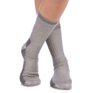 Smart Socks Charcoal Merino Wool Crew Hiking Socks (Pack of 3