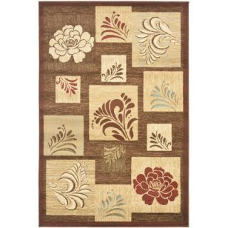 Safavieh Lyndhurst Brown Squared Area Rug