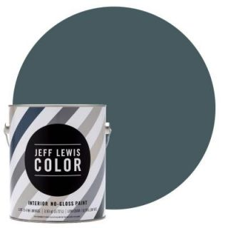Jeff Lewis Color 1 gal. #JLC315 Lake No Gloss Ultra Low VOC Interior Paint 101315