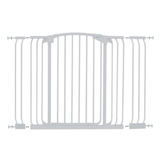 Dreambaby Chelsea Tall Auto Close 53 in x 39.5 in White Metal Child Safety Gate