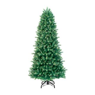 GE 7' Just Cut Colorado Spruce Artificial Christmas Tree with Clear Lights