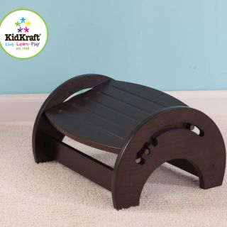 KidKraft 1 Step Manufactured Wood Adjustable Step Stool for Nursing