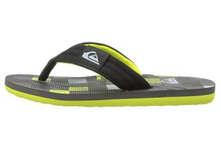 Quiksilver Kids Molokai Layback (Toddler/Little Kid/Big Kid) Black/Green/Grey