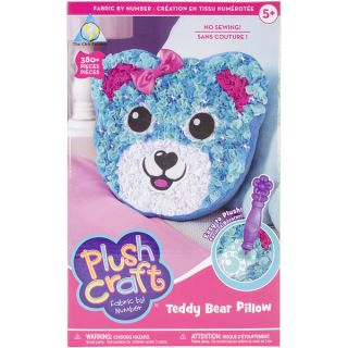 PlushCraft (R) Teddy Bear Pillow Kit Teddy Bear Pillow   16794159
