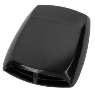 Universal Car Air Flow Intake Scoop Turbo Bonnet Vent Cover Hood Black