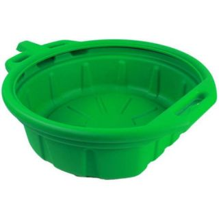 Capri Tools 21023 Portable Oil Drain Pan, Anti Freeze, Green