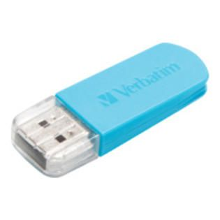 Verbatim Corporation Verbatim 16GB Mini USB Flash Drive   Blue   16 GB