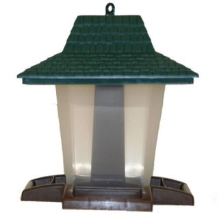 Perky Pet Wild Seed Lantern Hopper Bird Feeder