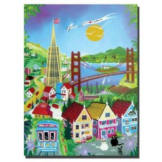 Trademark Fine Art 18 in. x 24 in. San Francisco Canvas Art HH014 C1824GG
