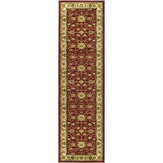 Safavieh Lyndhurst Majestic Black/ Red Rug (23 x 22)   15127459