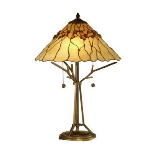 Radionic Hi Tech Tentelle 23.00 in. Bronze Hand Rolled Art Glass Table Lamp DT_TL_TT10598_RHT