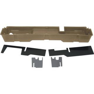 DU-HA Truck Storage System — Ford F-150 Supercab, Fits 2000-2003 Models, Tan, Model# 20009  Interior Storage