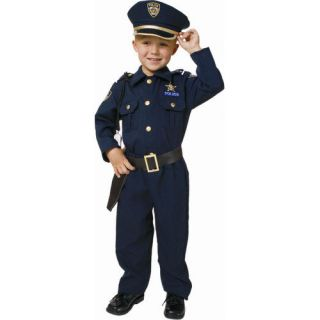 Police Officer Deluxe Kids Costume