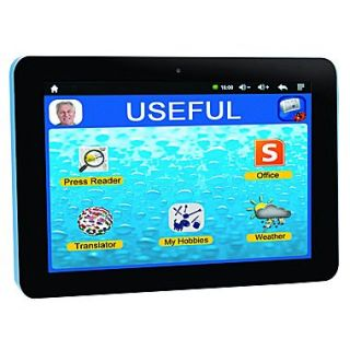 Lexibook Serenity MFC410EN, 8 Tablet, 8 GB, Android Jelly Bean, Wi Fi, Black