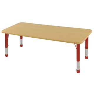 60 x 30 Rectangular Classroom Table by ECR4Kids