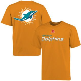 Miami Dolphins Pro Line Big & Tall Mallory T Shirt   Orange