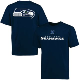 Seattle Seahawks Pro Line Big & Tall Mallory T Shirt   College Navy