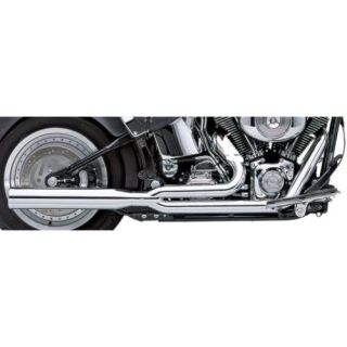 Cobra Power Pro HP 2 Into 1 Exhaust Chrome Fits 04 13 Harley Davidson Forty Eight Dark Custom XL1200X