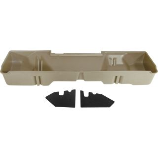 DU-HA Truck Storage System — Chevrolet Silverado Extended Cab, Fits 2007–2013 Models, Tan, Model# 10047  Interior Storage