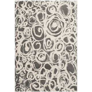 Safavieh Porcello Dark Grey/ Ivory Rug (8 x 112)   16107047