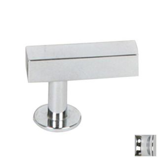 Lew's Hardware Polished Chrome Bar Series Rectangular Cabinet Knob