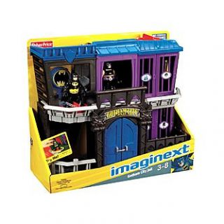 Imaginext Super Friends Gotham City Jail   Toys & Games   Action