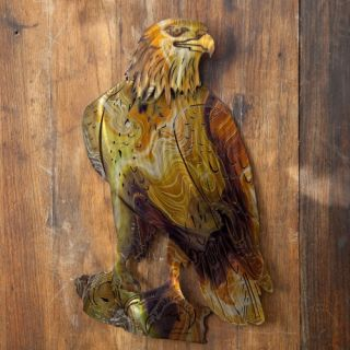 Eagle Indoor/Outdoor Light Reflective Wall Art