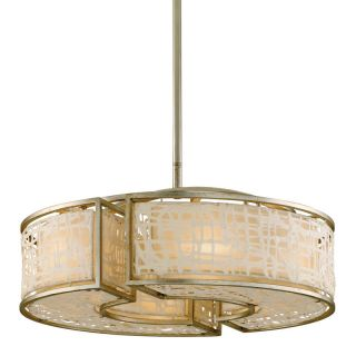 Corbett Lighting 131 46 Silver Leaf Pendant Light