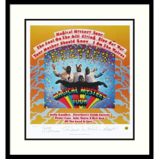 The Beatles Magical Mystery Tour (Album Cover) Framed Art Print