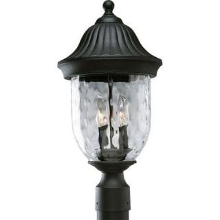 Progress Lighting Coventry Collection Textured Black 2 light Post Lantern P5429 31