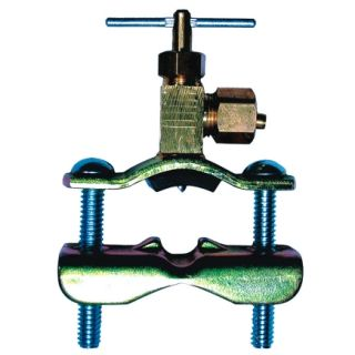 Ace 1/4in Saddle Valve (4337770)   Brass Compression Fittings