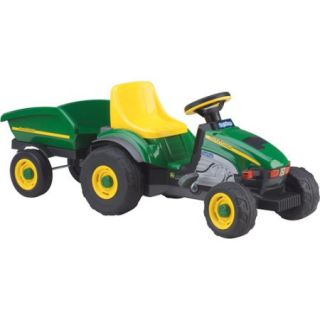 Peg Perego John Deere Farm Tractor and Trailer Pedal Ride On