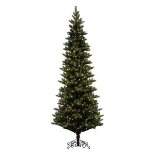 Vickerman Royal Spruce Slim Pre lit Christmas Tree   Christmas Trees