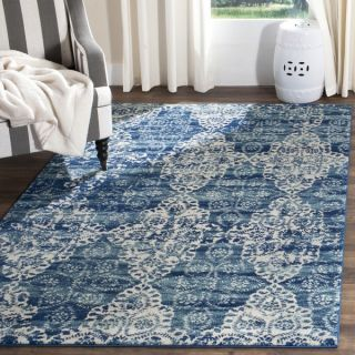 Safavieh Evoke Royal Blue/ Ivory Rug (8 x 10)   18661215