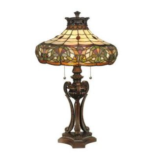 Dale Tiffany 27 in. Melissa Art Glass Table Lamp DISCONTINUED TT11161