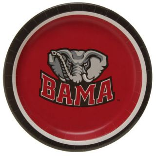 Alabama Crimson Tide 8 Pack Lunch Plate Set