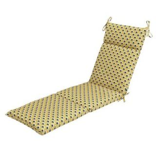 Hampton Bay Viking Outdoor Chaise Lounge Cushion 7407 01239200