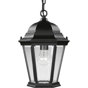 Progress Lighting P5582 31 Welbourne Textured Black  Outdoor Pendants Lighting