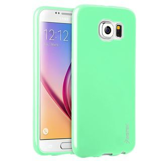 Insten Mint Green Jelly TPU Rubber Candy Skin Phone Case Cover For