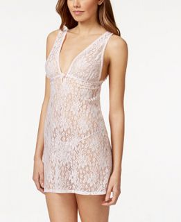 Flora by Flora Nikrooz Lia Stretch Lace Chemise and G String   Bras