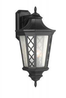 Murray Feiss OL9504TXB Textured Black Outdoor Wall Light