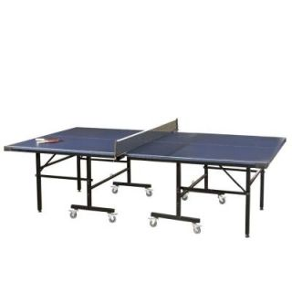 American Heritage Billiards Strata 9 ft. Blue Rectangle Tennis Folding Table 301877