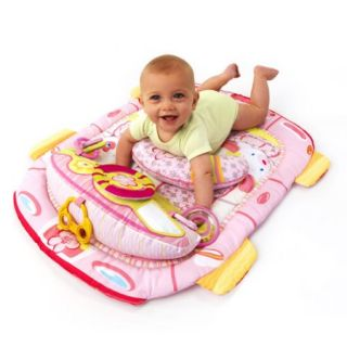 Bright Starts   Tummy Cruiser Prop & Play Mat, Pink