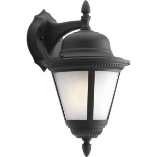 Progress Lighting Westport 15.8125 in H LED Textured Black Outdoor Wall Light
